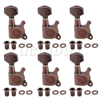 6pcs Right Closed Tuning Pegs Machine Heads for Electric Guitar Parts