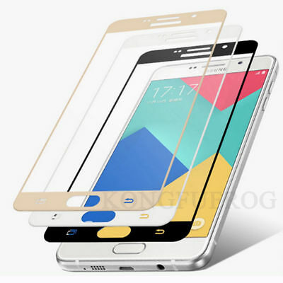 3D Full Cover Tempered Glass Protector For Samsung Galaxy A3 A5 A7 J3 J5 J7 2017