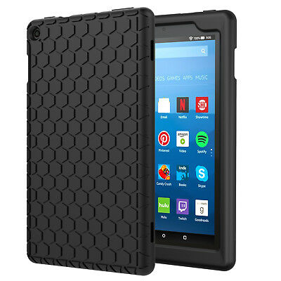 Moko Amazon Fire HD 8 2017 Silicone Cases Light Weight Shockproof Back Cover