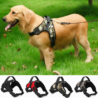 1Pc Adjustable Nylon Pet Dog Harness Collar Dog Harness Hand Strap Dog Supplies