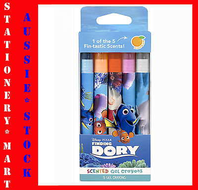 Disney Pixar◉Finding Dory◉Scented 5 Gel Crayons◉Sketch & Sniff◉Kids 3+◉Project◉