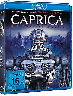 CAPRICA 1.0+1.5 2009 COMPLETE Series Battlestar Galactica RgFree BLU-RAY English