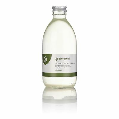Georganics Tea Tree Antibacterial Mouthwash - 300ml