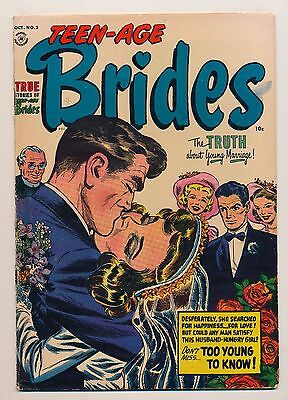 Teen-Age Brides (1953) #2 VG+/FN- The Truth About Young Marriage!
