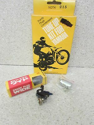 Nos 72 Yamaha Lt2 73 Lt3 100 Hot U Tune Up Kit Points Condenser Spark Plug