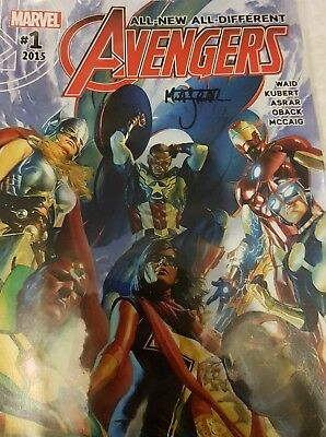 All New All Different Avengers #1 - 15 +Annual Complete Set Marvel Comics Signed