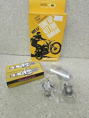 Nos 73-75 Yamaha Rd350 Rd250 Rd 350 250 Hot U Tune Up Kit Points Condenser Plugs