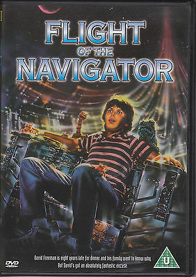 Flight of the Navigator (1986) Joey Cramer UK R2 DVD