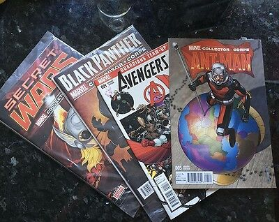 Marvel Collector Corps 4 Comic Bundle (Ant-Man, Avengers, Black Panther)