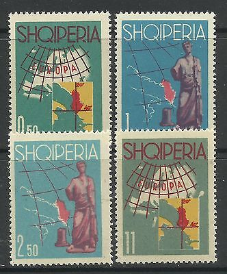 ALBANIA. 1962. Tourist Publicity Set. SG: 716/19. Mint Never Hinged