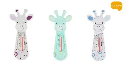 Baby Ono BATH THERMOMETER Baby Safety Floating Thermometer Toy - Giraffe