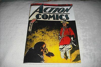 "Action   #-4 (1938),   Nice Complete  ""facsimile  Covers Only """