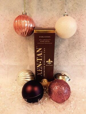 Xen-Tan Xen Tan Dark Lotion Weekly Self Tan Tanning 236ml Free Gift