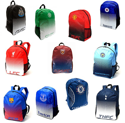 Football Backpacks School Bag Rucksacks - Barcelona, Chelsea, Liverpool