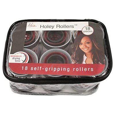 Mia Holey Rollers, Self Adhesive Hair Curlers, Quick Dry Time