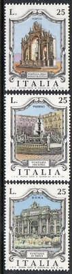 Italy MNH 1973 Famous Fountains