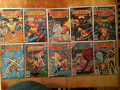 Firestorm #1-5 1st Killer Frost  & Fury Of Firestorm 1, 2, 3, 6 & 7 Set