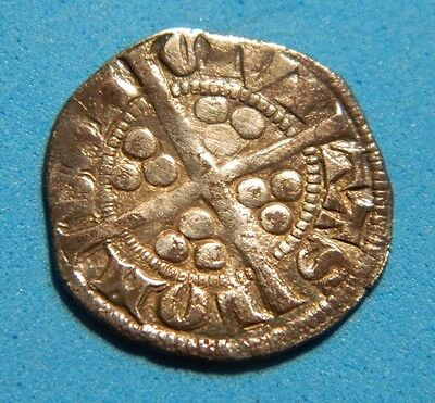 Nice Grade Edward 1St.(Long Shanks) Silver Penny London  Mint 1272-1307. Ma9
