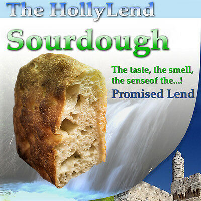 HOLY LAND SOURDOUGH starter - The essence of the Promised Land. Pure organic.