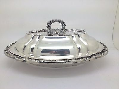Barbour Silver Co. Nickel Silver Casserole