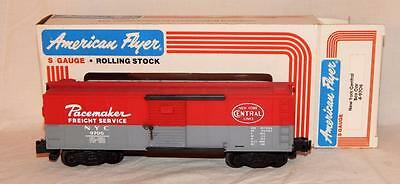American Flyer 4-9706 S Gauge New York Central Box Car NYC Pacemaker Freight '85
