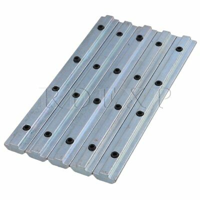 5pieces 18x1.9cm 40Series Straight Inside Connector with M6 Screw Hole