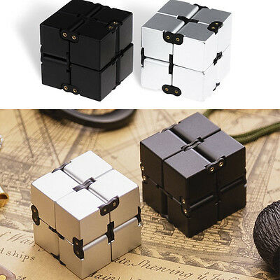 Mini Luxury EDC Infinity Cube For Stress Relief Fidget Anti Anxiety Stress Funny