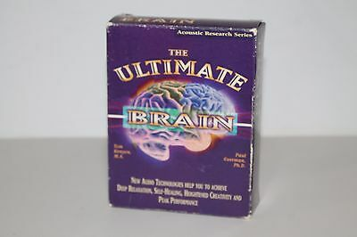 Ultimate Brain by Tom Kenyon ( Nov-1997, 4 Cassettes) The Relaxation Company