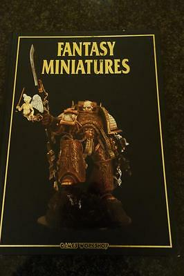 FANTASY MINIATURES 2002, GAMES WORKSHOP,SPACE McQUIRK,HARDCOVER BOOK