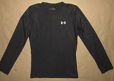 LRG Under Armour Youth Fitted L/S Athletic Shirt Fitness Training Kids