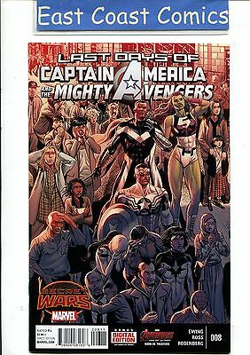 Captain America And The Mighty Avengers #8 - Marvel