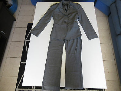 Women's CUE Size 8 AU Full Suit Blazer Grey ExCon Office Work   3+ Extra 10% Off