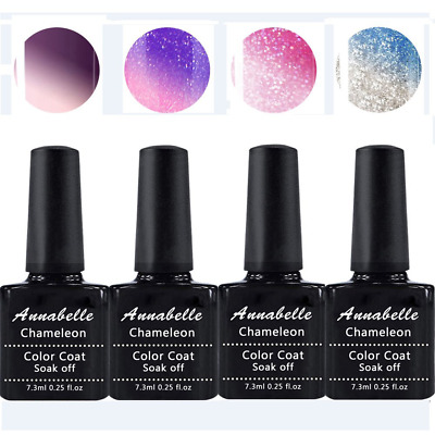 Annabelle Smalto Semipermanente Camaleonte Nail Polish UV LED Gel Unghie (Kit di