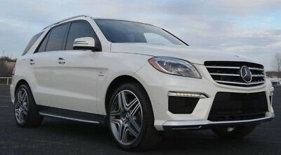2014 Mercedes-Benz M-Class ML63 AMG Performance Package 2014 ML63 AMG One Owner AMG Performance Pkg 21 Wheels MSRP $116,645.00