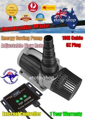 Jebao TSP-20000 Electronic Marine Fresh Aquarium Water Pond Pump - Flow Adjust