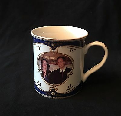 Royal Crest Mug To Commemorate The Wedding Of William And Catherine