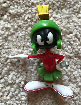"""Marvin The Martian """"Angry"""" PVC Figure from 1996 Warner Bros"""