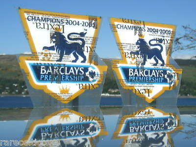 Lextra Barclays EPL Chelsea 2004-2005 Player Issue Champions Arm Patches