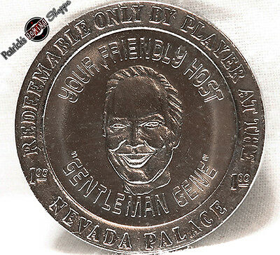 $1 Slot Token Coin Nevada Palace Casino Motor Inn 1979 Rw Mint Las Vegas Nevada