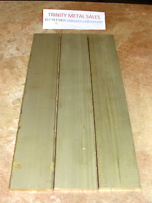"1/4"" X 2"" X 12"" Brass Flat Bar C360 Scratches & 1/16"" Bow Discounted Item!"