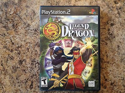 Legend of the Dragon (Sony PlayStation 2, 2007) CIB Complete in Box