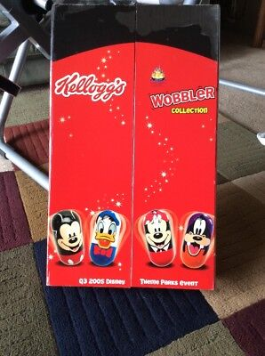 Kellogg's 2005 Disney Wobbler Collection Brand New In Box • $38.00