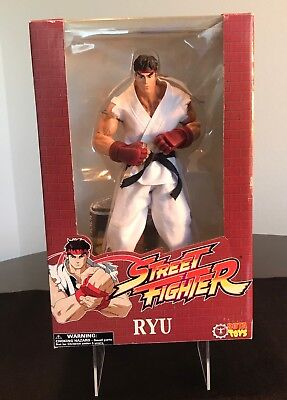 Rare! Street Fighter Large Scale Rotocast Rnd 1- Ryu Action Figure By SOTA Toys!
