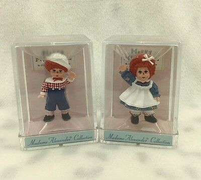 Hallmark Merry Miniatures Madame Alexander Mop Top Wendy Mop Top Billy 1996