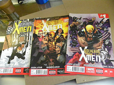 Marvel 2014 1st 3 issues WOLVERINE AND THE X-MEN 1 2 3 qq • $0.99