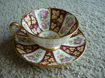 Royal Grafton Cup & Saucer/ Gainsboro Pattern/excellent