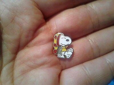 Vintage Aviva Snoopy with Foot in Cast Mini Tie Tack Pin