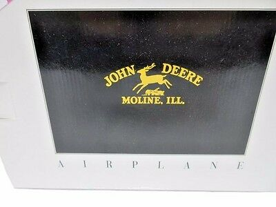 NEW 1992 John Deere Airplane Bank #35002 Spec Cast - FREE SHIPPING!