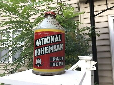National Bohemian Beer Crowntainer
