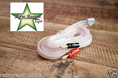 240-300 Ohm UKW FM Dipole Antenna Aerial for Antique Vintage Tube Radios Gold